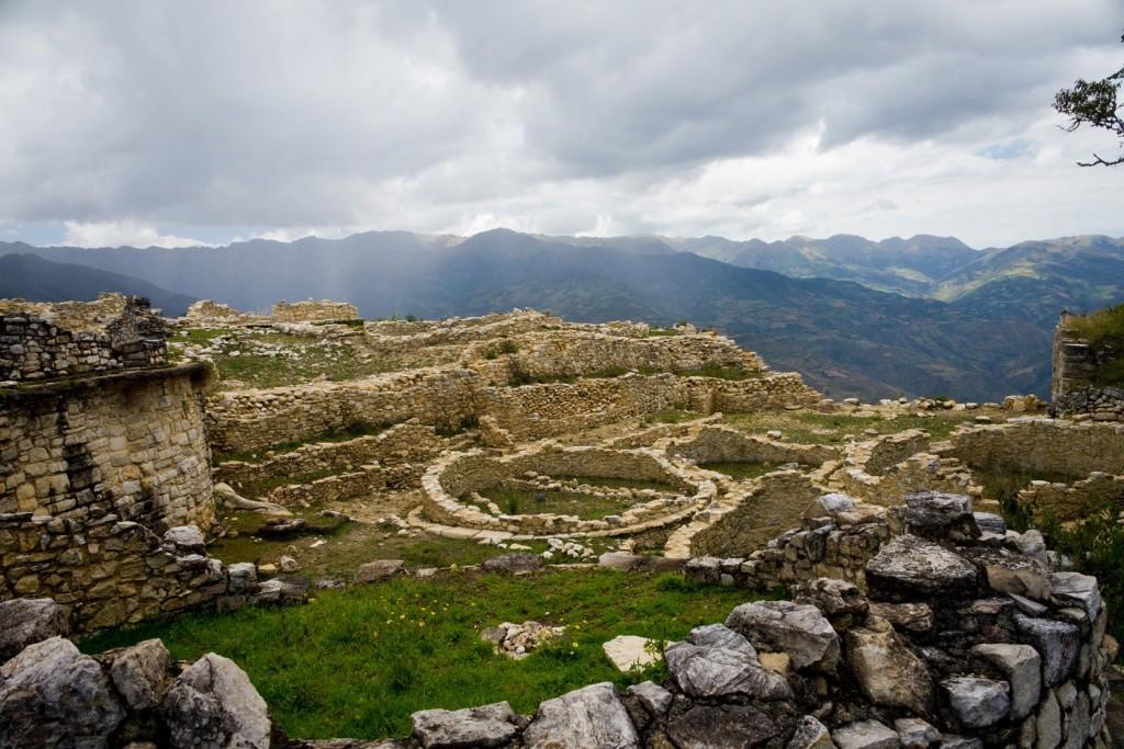 De ruïnes van Kuélap