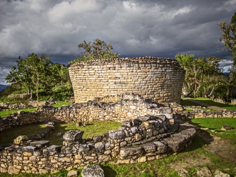 ruïnes van Kuélap Peru