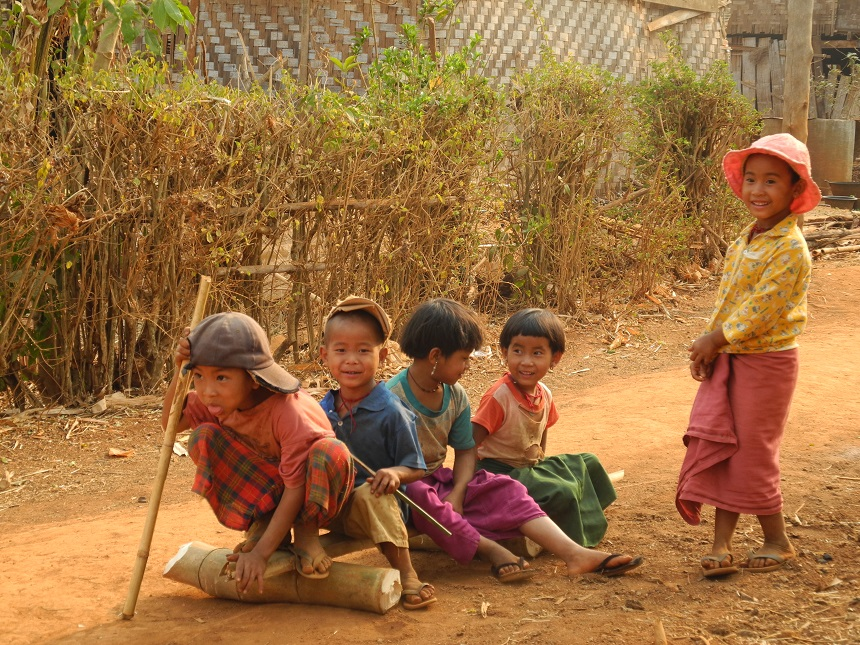 myanmar-platteland
