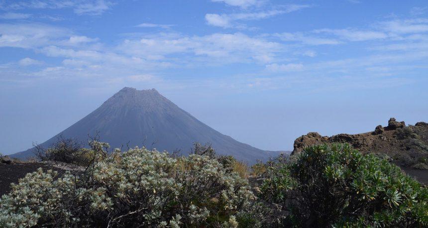 Vulkaan Pico do Fogo op Kaapverdie