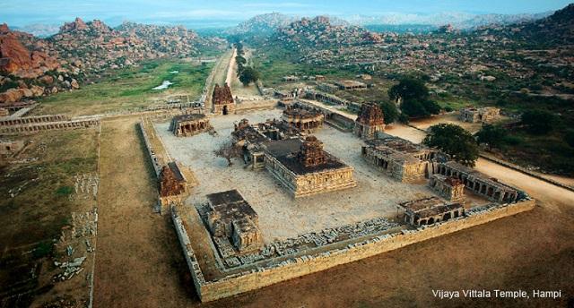 cultuur en natuur india in Hampi
