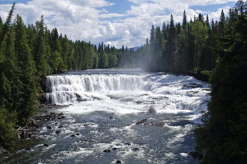 dawson falls in Canada