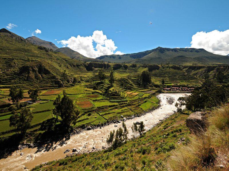 Geopark in Peru