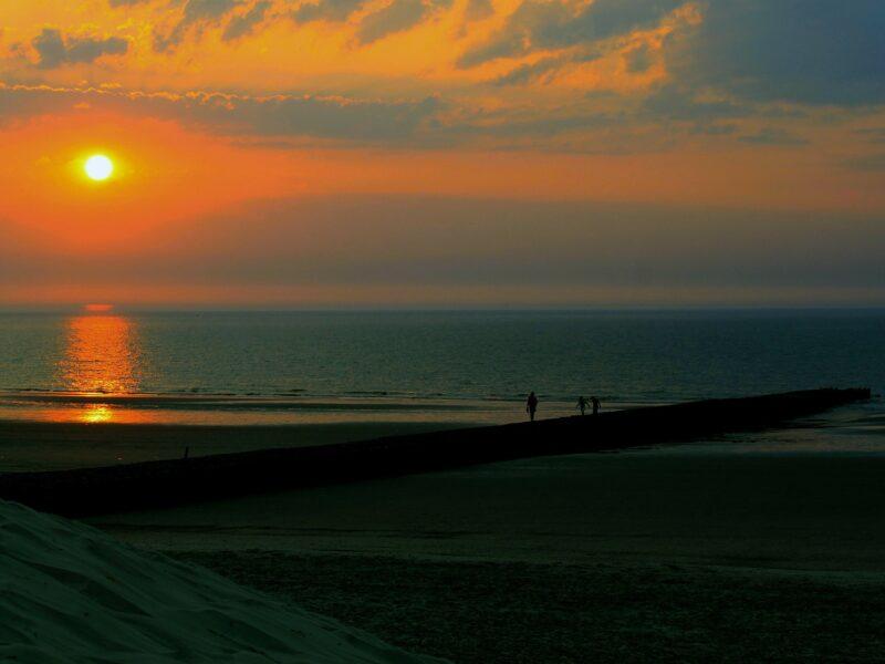 Norderney zonsondergang
